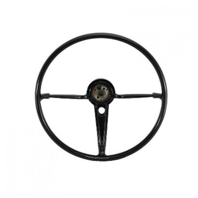 Full Size Chevy Volante OE Series Steering Wheel, Black, 1955-1956