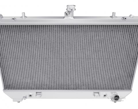 Champion Cooling 2010-2011 Chevrolet Camaro 4 Row All Aluminum Radiator Made With Aircraft Grade Aluminum MC13142