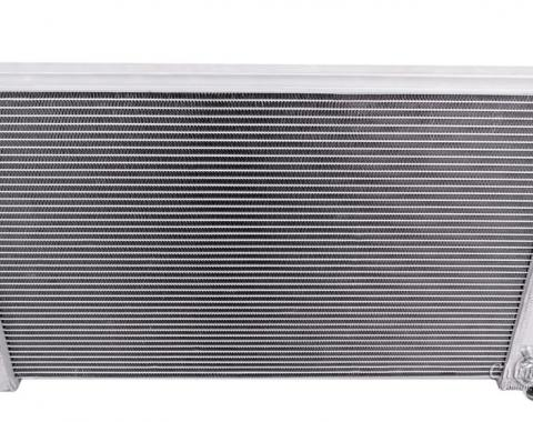 "Champion Cooling 2 Row with 1"" Tubes All Aluminum Radiator Made With Aircraft Grade Aluminum AE162"