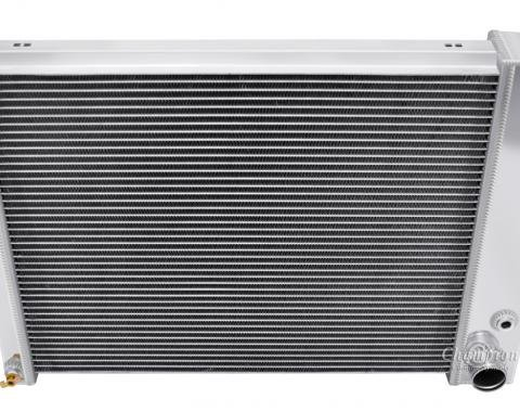 "Champion Cooling 2 Row with 1"" Tubes All Aluminum Radiator Made With Aircraft Grade Aluminum AE337"