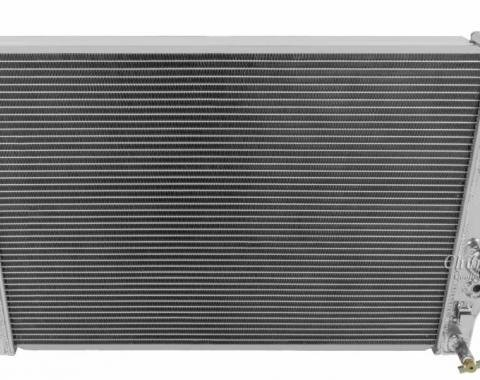 "Champion Cooling 2 Row with 1"" Tubes All Aluminum Radiator Made With Aircraft Grade Aluminum AE2365"