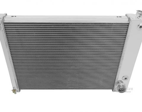 Champion Cooling 2 Row All Aluminum Radiator Made With Aircraft Grade Aluminum EC370