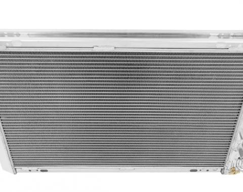 "Champion Cooling 2 Row with 1"" Tubes All Aluminum Radiator Made With Aircraft Grade Aluminum AE951"