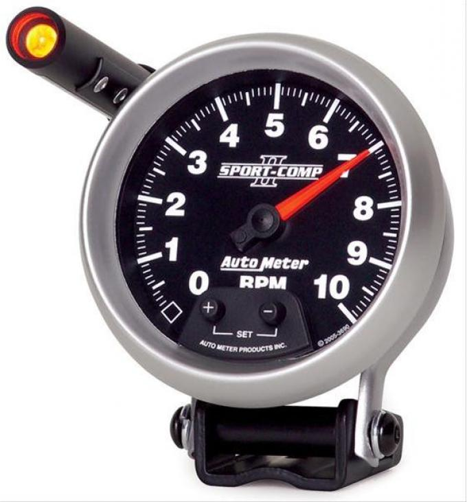 "AutoMeter Sport-Comp II Tachometer, 0-10000 RPM, 3 3/4"", 3690"