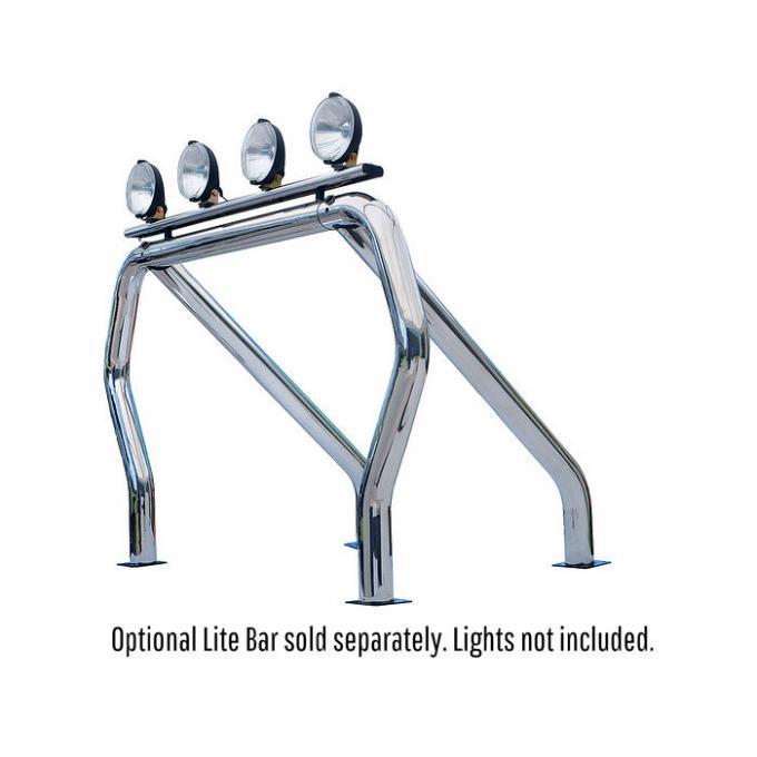 Go Rhino! Bed Bars- Single Bar/Single Kicker (On Wheel Wells)