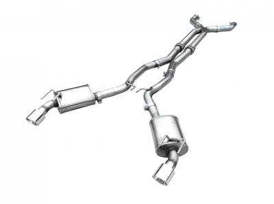 American Racing Headers Cat-Back Exhaust Systems CAZ28-14300SCBK