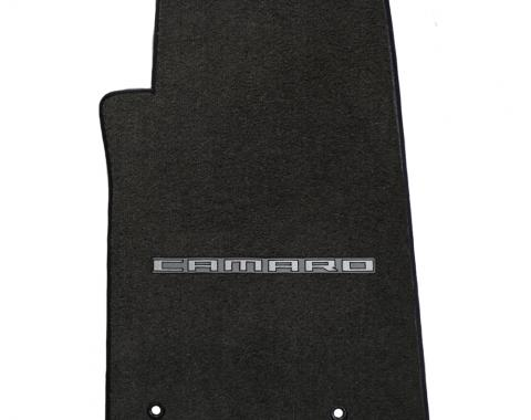 Lloyd Mats 2010-2015 Chevrolet Camaro Camaro 2010-on 4 Piece Mats Ebony Velourtex Camaro Logo 620004