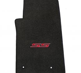 Lloyd Mats 2010-2015 Chevrolet Camaro Camaro 2010-on 4 Piece Mats Ebony Velourtex SS Logo 620005