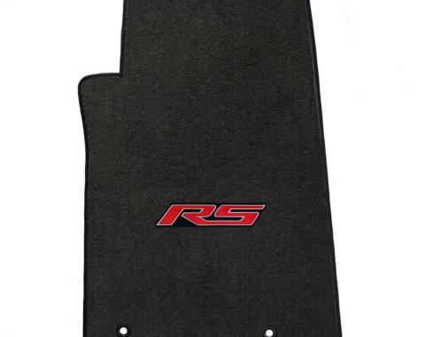 Lloyd Mats 2010-2015 Chevrolet Camaro Camaro 2010-on 4 Piece Mats Ebony Velourtex RS Logo 620006