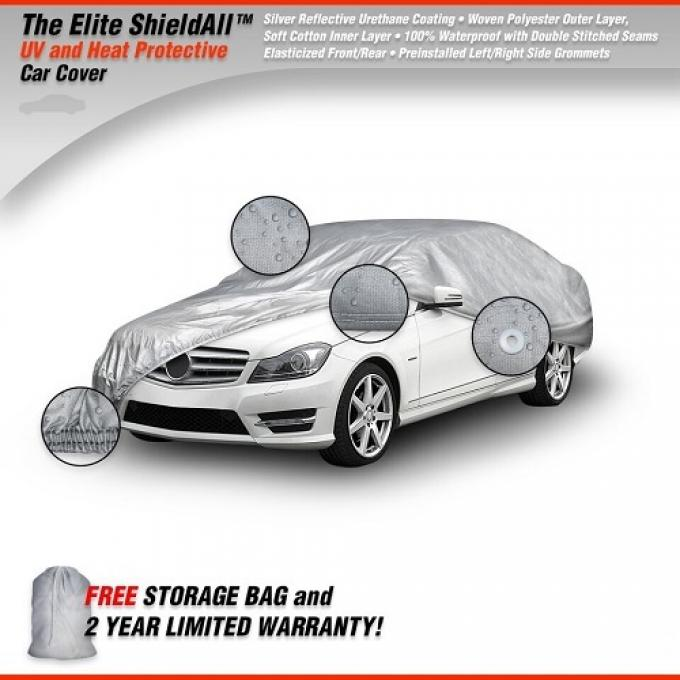 PONTIAC FIREBIRD Elite ShieldAll Car Cover, Gray, 1967-1992