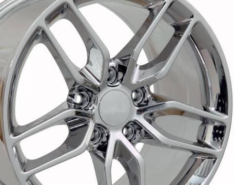 Chrome Wheel fits Corvette (Stingray style) 17x9.5