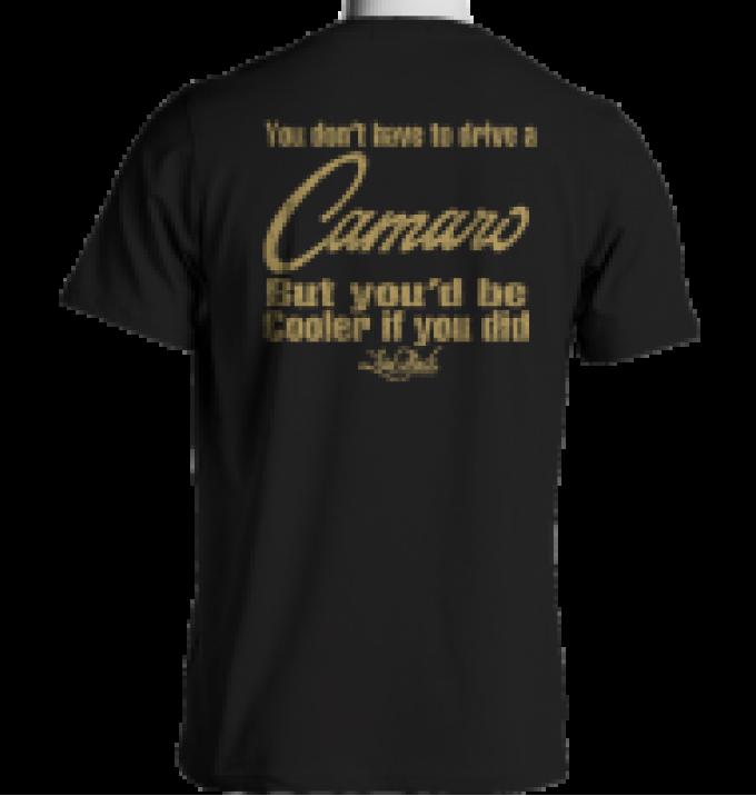 Laid Back Cooler Camaro-Men's Chill T-Shirt