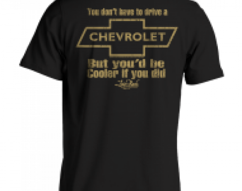 Laid Back Cooler Chevy-Men's Chill T-Shirt
