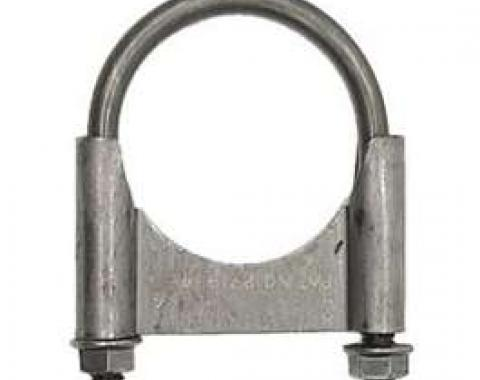 Firebird Exhaust Muffler Clamp, Guillotine Style, Steel, 2, 1967-1969