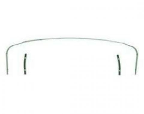 Firebird Convertible Top Rear Tack Strip Set, 1967-1969