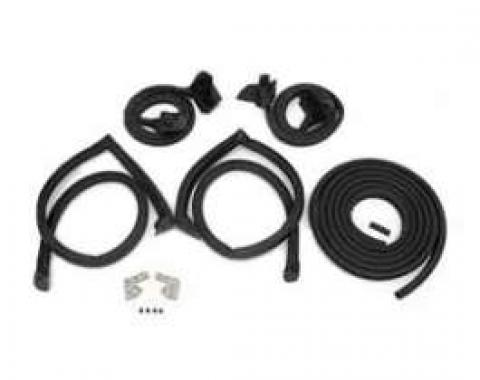 Firebird Weatherstrip Mini Kit, Coupe, 1982-1992