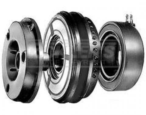 Firebird AC Delco, Reman Air Counditioning Compressor Clutch, For A6 Compressor, With 5 Diameter Pulley, 1967- 1981