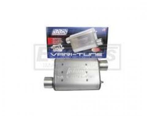 Firebird BBK 2-3/4 Vari-Tune Adjustable Stainless Steel Performance Muffler, Offset