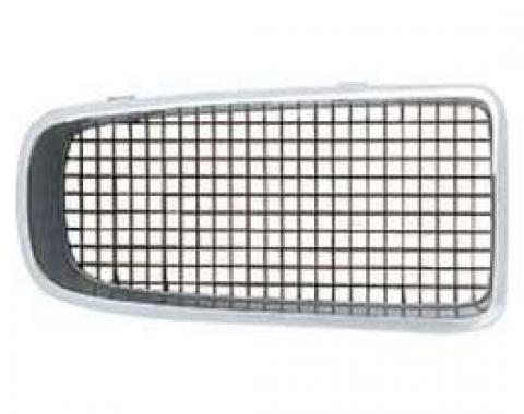 Firebird Grille, Black, Right, 1970-1971