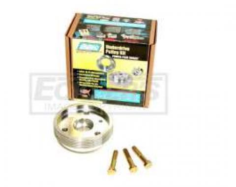 Firebird 1-Pc BBK Aluminum Underdrive Crank Pulley Kit, 1993-1997