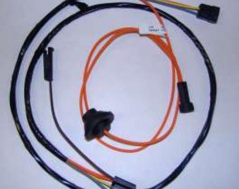 Firebird Heater Harness, Without A/C, 1969