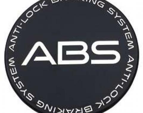 Firebird Center Cap, ABS, Black 1995-2002