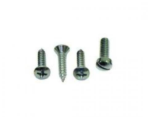 Firebird Sunvisor Support Screw Set, 1967-1969