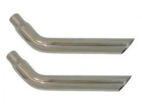 Trans Am And Formula Stainless Exhaust Tips 1971-1973