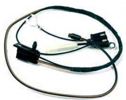 Firebird Wiring Harness, Air Conditioning, Pontiac 301, Compressor to A/C Harness, 1980-1981