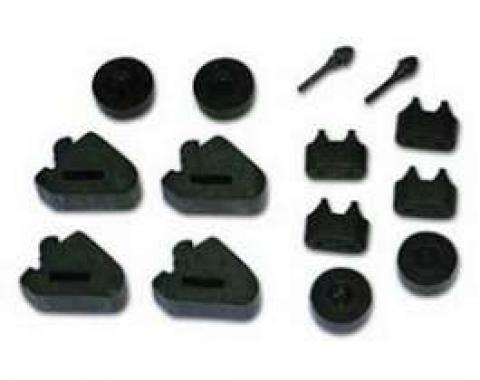 Firebird Rubber Grommet Kit, 1970-1981