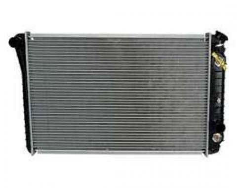 Firebird Radiator, Replacement Aluminum / Plastic, Auto or Manual Transmission, V6, V8, or 4 Cylinder, 1982-1992