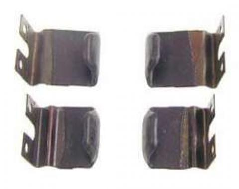 Firebird Roofrail Weatherstrip Blow-Out Clip Set, Coupe, 1967-1969