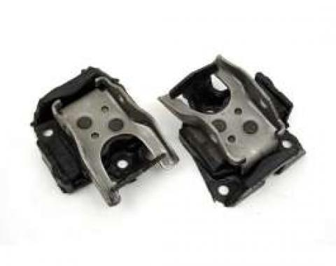 Firebird Engine Motor Mounts, 302, 350 & 396ci, 1969