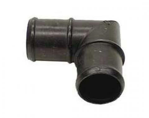 Firebird Breather Hose Elbow Fitting, Big Block, Valve Cover,1967-1969