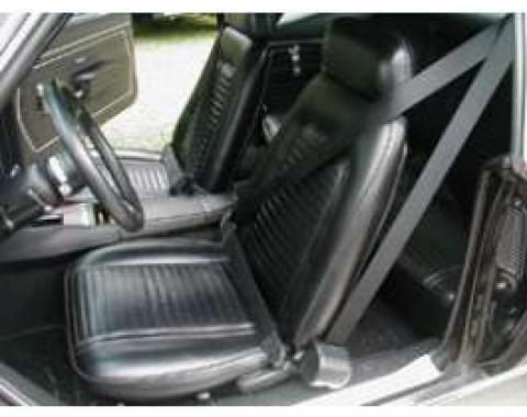 Firebird 3-Point Retractable Shoulder Harness/Seat Belt Kit, Morris Classic Concepts, 1967-1969