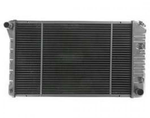Firebird Radiator, Replacement Brass / Copper, Auto or Manual Transmission, V6 or V8, 1974-1981