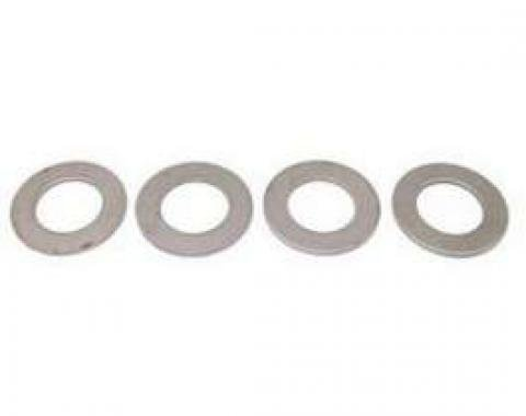 Firebird Subframe Mounting Points Repair Plate Set, Upper, 1967-1969