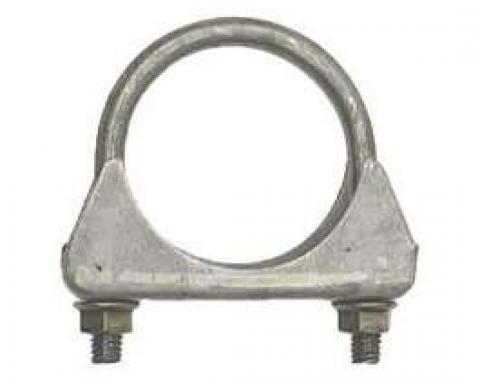 Firebird Exhaust Muffler Clamp, Cradle Style, Steel, 2, 1967-2002