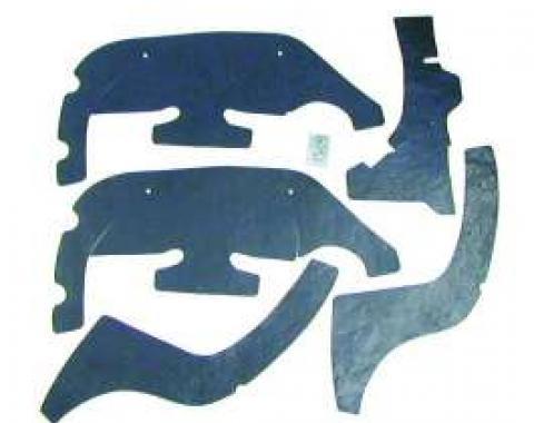 Firebird Control Arm Dust Shield Set, 1969