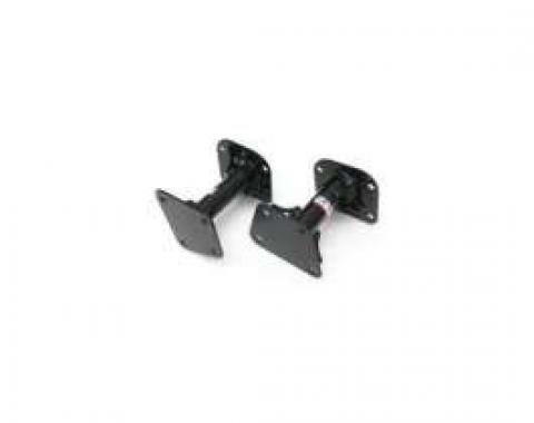 Firebird Motor Mounts, Solid, Tubular, Black, 1998-2002