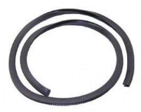 Firebird Convertible Top Header Bow Windlace, Black, 1967-1969