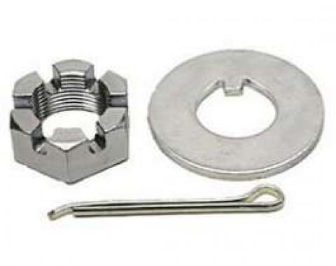 Firebird Front Wheel Spindle Nut & Keyed Washer, 1967-1981