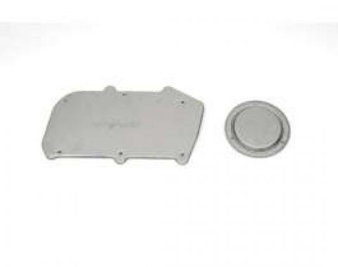 Firebird Heater Delete Firewall & Blower Motor Cover Set, 1967-1969