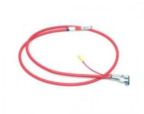 Firebird Battery Cable, Positive, V8, 1969
