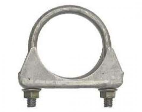 Firebird Exhaust Muffler Clamp, Cradle Style, Steel, 2-1/4, 1967-2002