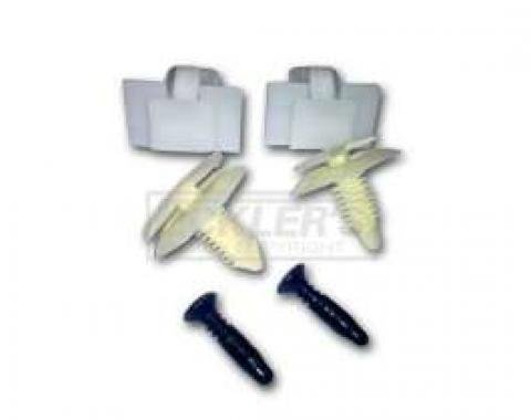 Firebird Interior Pillar Post Hardware Set, 1982-1992