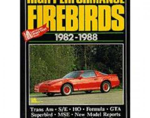 High Performance Firebirds Book, 1982-1988
