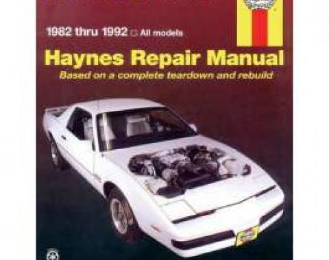 Firebird Haynes Repair Manual, 1982-1992