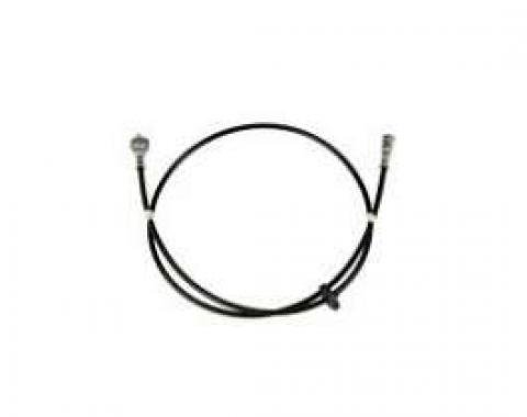 Firebird Speedometer Cable Assembly, 62, With Firewall Grommet, 1969