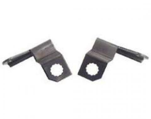 Firebird Disc Brake Caliper Hose Mounting Brackets, 1967-1968